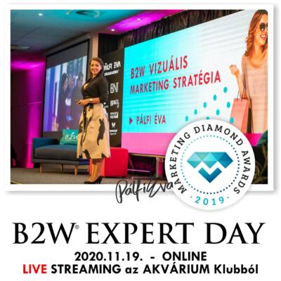 ONLINE Belépőjegy - B2W EXPERT DAY