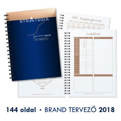 2018 - BRAND TERVEZŐ HATÁRIDŐNAPLÓ